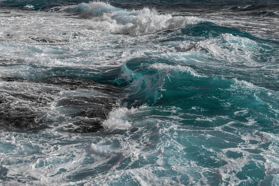 Waves, Water, Sea, Nature, Ocean, Seascape, Surf