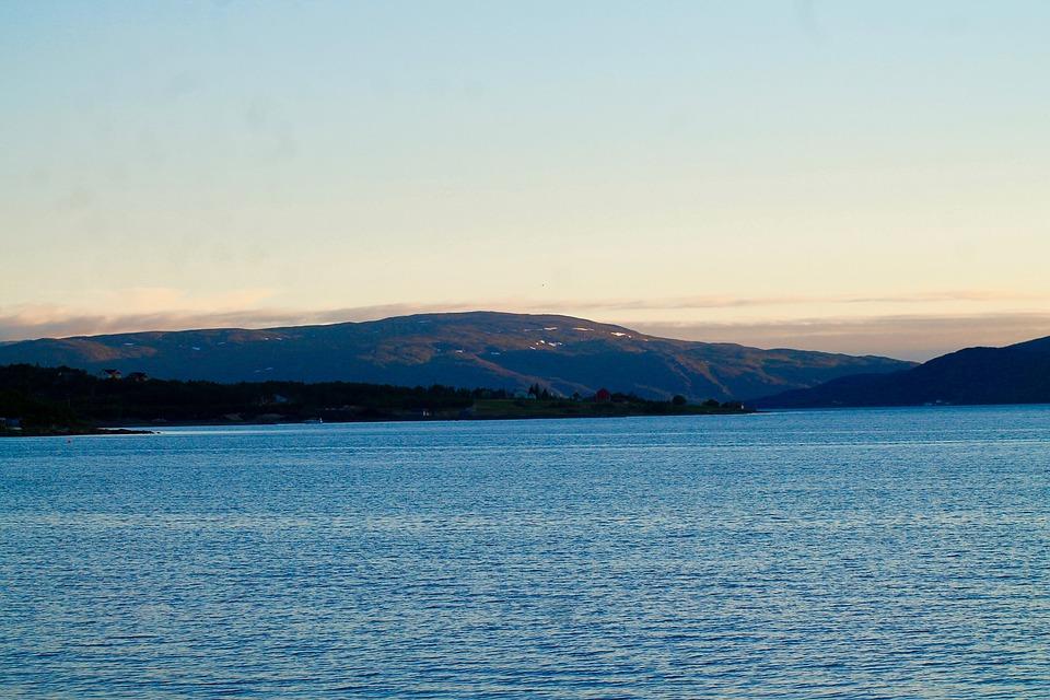 Sea, Nature, Landscape, Sky, Mountain