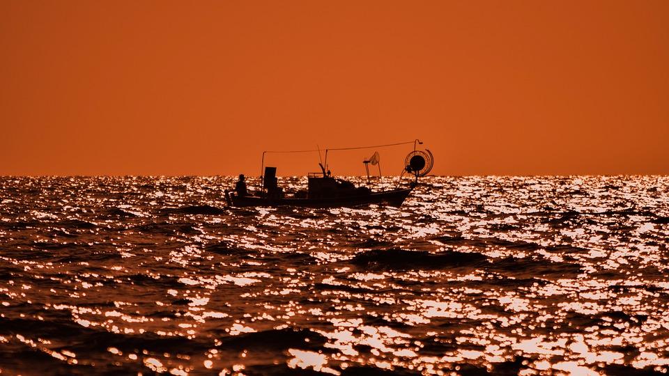 Sunset, Nature, Sea, Horizontal Plane, Dusk