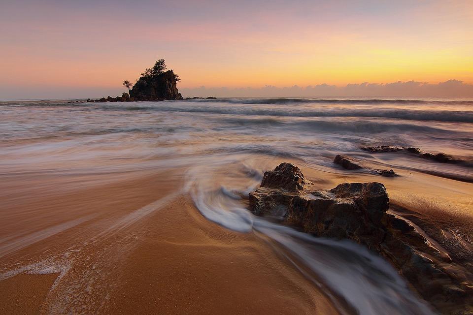 Seascapes, Motion, Ocean, Wave, Movement, Beach, Sea