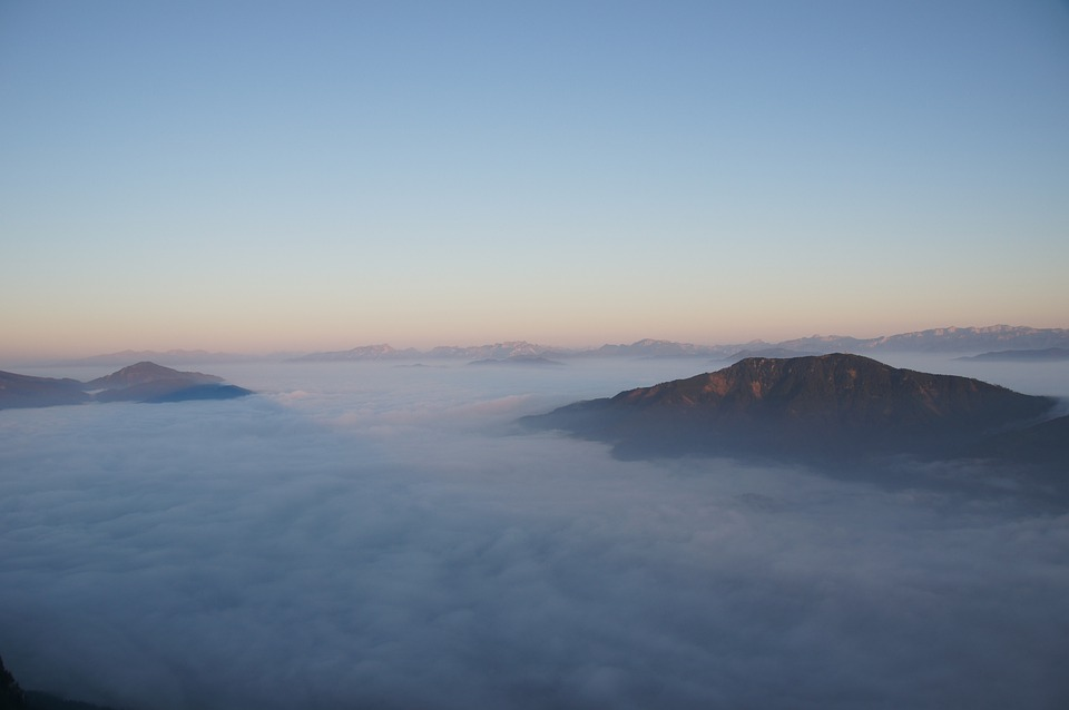Hochlantsch, Mountain, Sea Of Fog