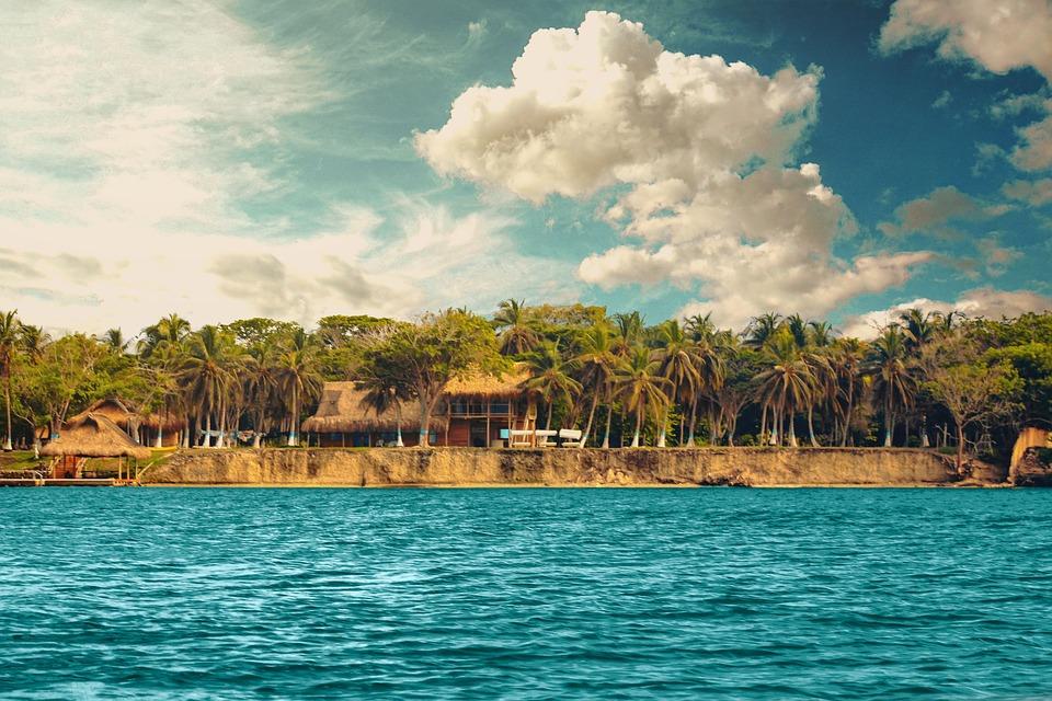 Beach, Caribbean, Island, Sea, Water, Paradise