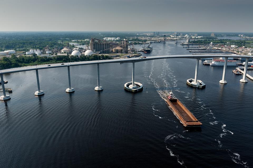 Water, Sea, Harbor, Pier, City