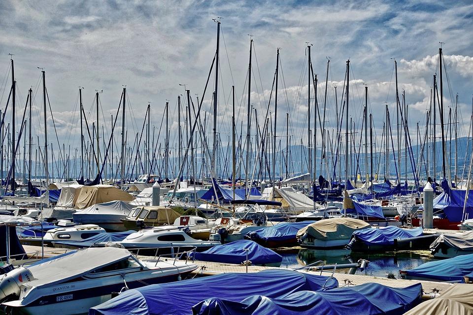 Yachts, Marina, Harbor, Sea, Sailboats, Pier, Jetty