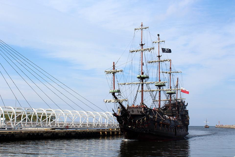 Ship, Sea, Port, Water, The Coast