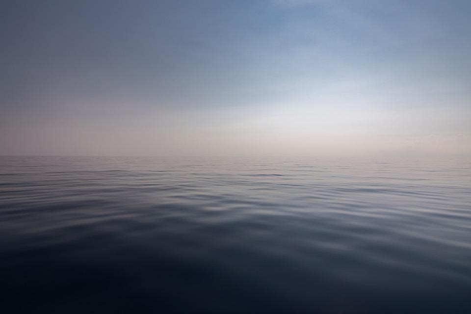 Sea, Water, Ocean, Quiet, Horizon, Landscape, Seascape