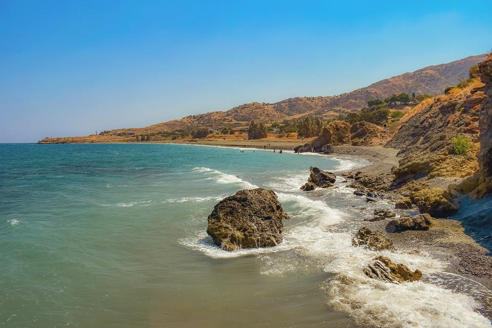 Free Photo Sea Rocks Rock Coast Beach Landscape Nature Max