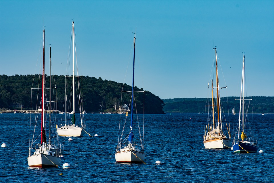 Ocean, Sail, Boat, Sea, Travel, Ship, Water, Yacht
