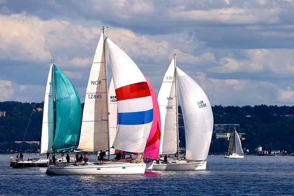 Sailing, Sailboat, Sea, Summer, Sport, Sail