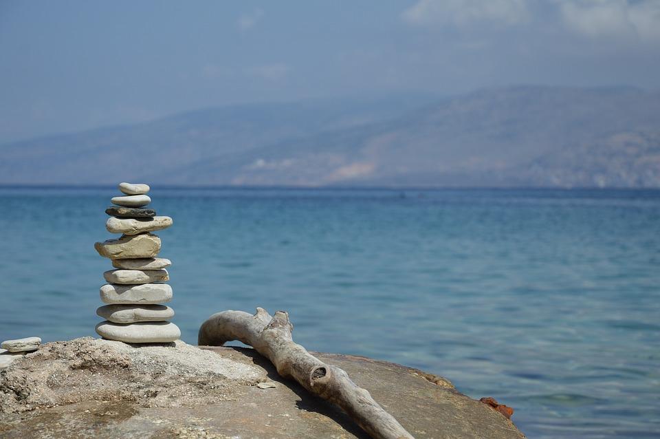 Sea, Beach, Holiday, The Stones, Sand, The Baltic Sea
