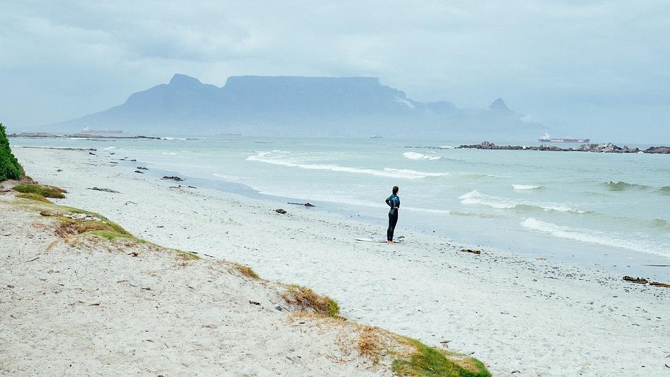Nature, Landforms, White, Sand, Beach, Water, Sea
