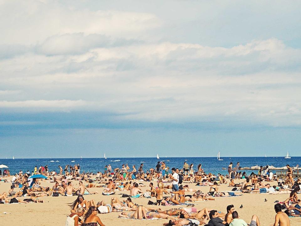 Beach, Ocean, Outdoors, People, Sand, Sea, Sunbathing