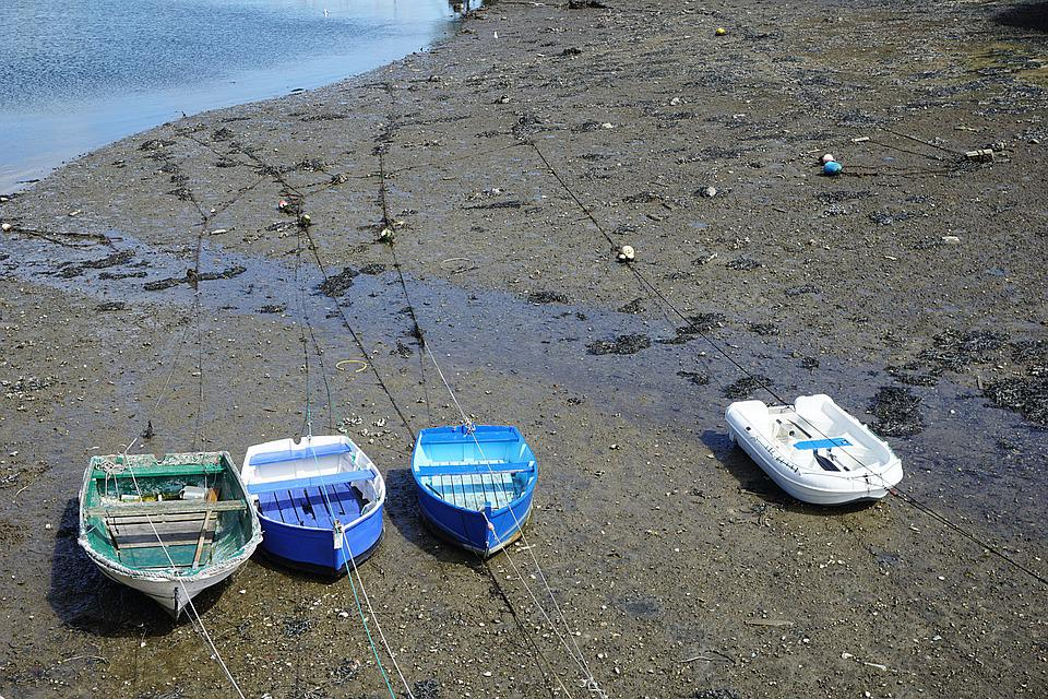 Boats, Beach, Sand, Fishing, Sea, Water, Nature, Boat