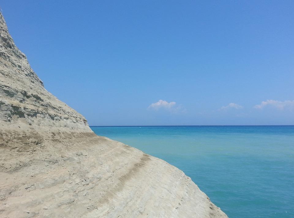 Sea, Rock, Sky, Horizon, Summer, Meditation, Quiet