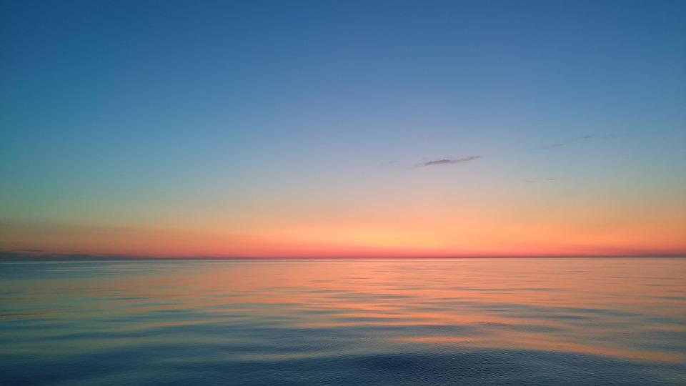 Sea, Sunset, Sky, Nature