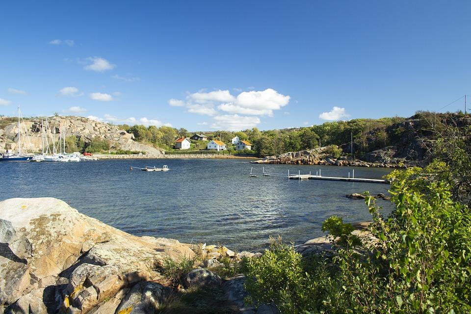 Sweden, Coast, Sea, Nature, Vacations, Sky, Landscape