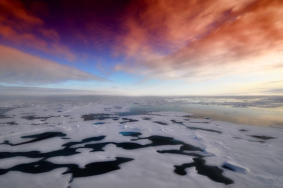 Arctic, Sea, Ocean, Water, Antarctica, Winter, Snow