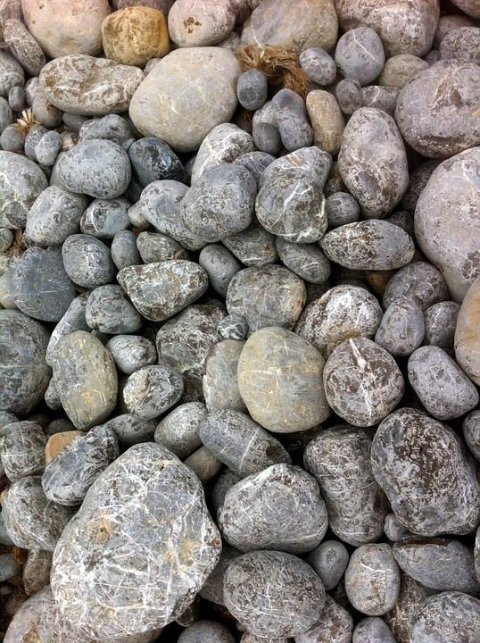 Stones, Pebbles, Sea, Beach