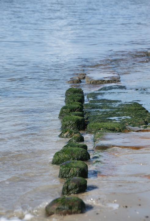 Water, Sea, Stones, Rock