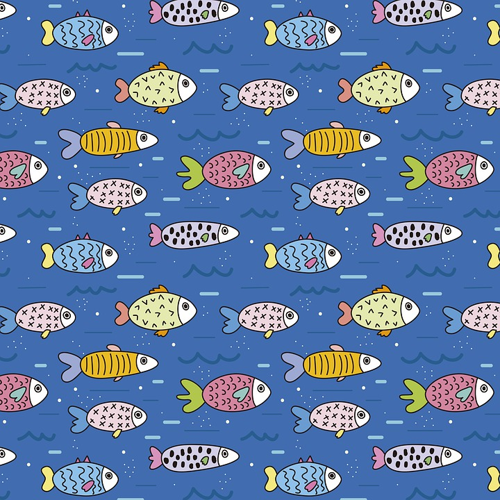 Sea, Fish, Blue, Submarine, Animals, Marine, Ocean