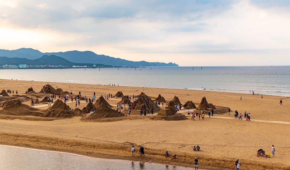 Beach, Sand, Sea, Ocean, Nature, Summer, Coast, Water