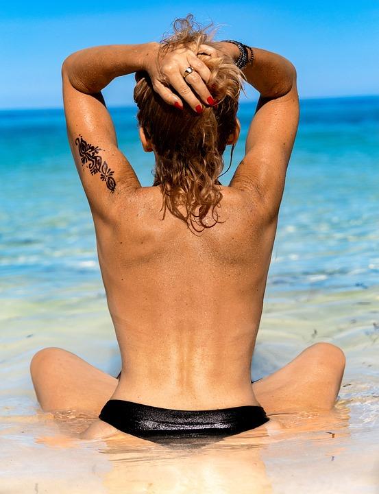 Holidays, Woman, Beach, Girl, Summer, Sea, Ocean