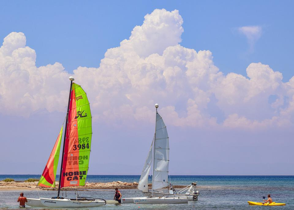 Sea, Sailboats, Sailing, Nautical, Sail, Summer, Sky