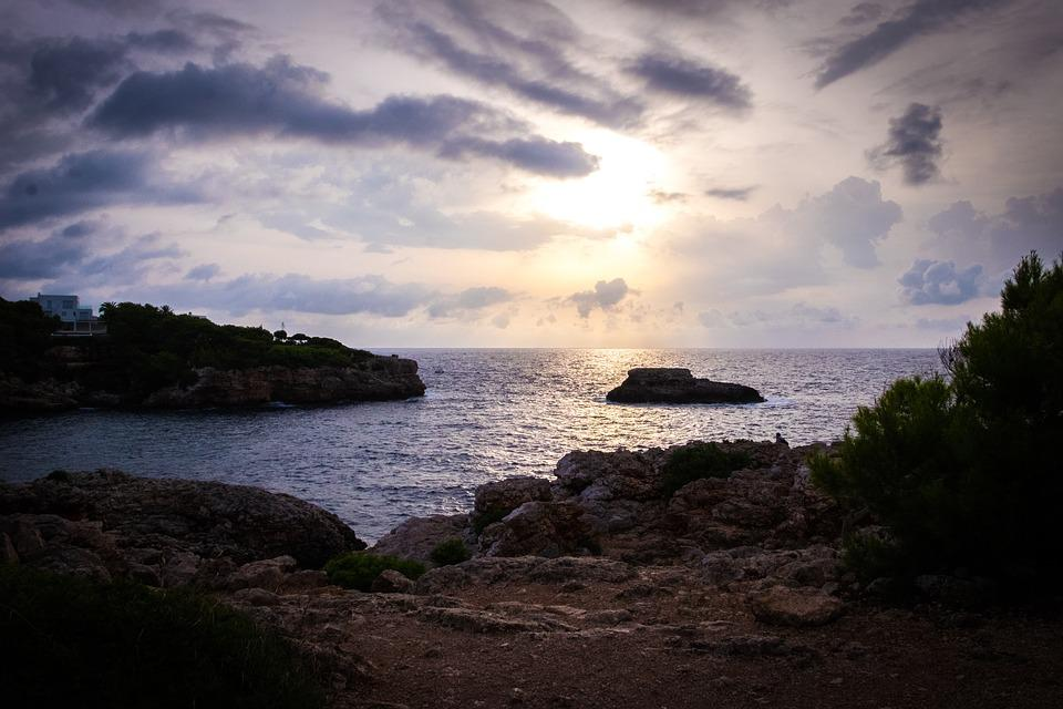 Majorca, Spain, Sea, Sun, Water, Sky, Mediterranean
