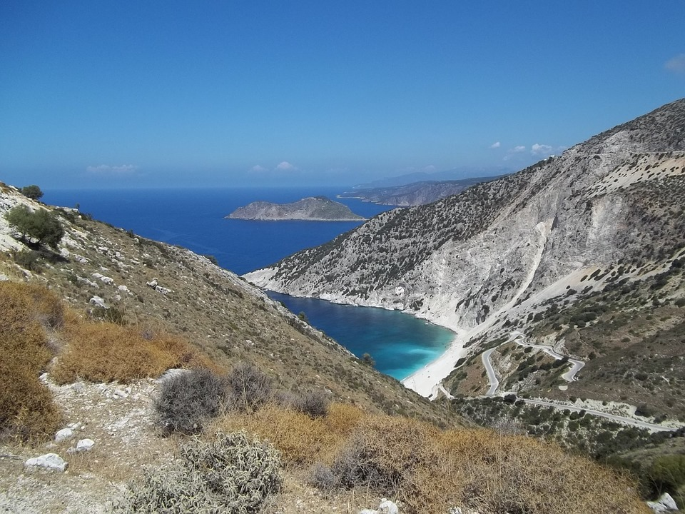 Bay, Sun, Sea, Greece, Beach, Summer, Water, Blue