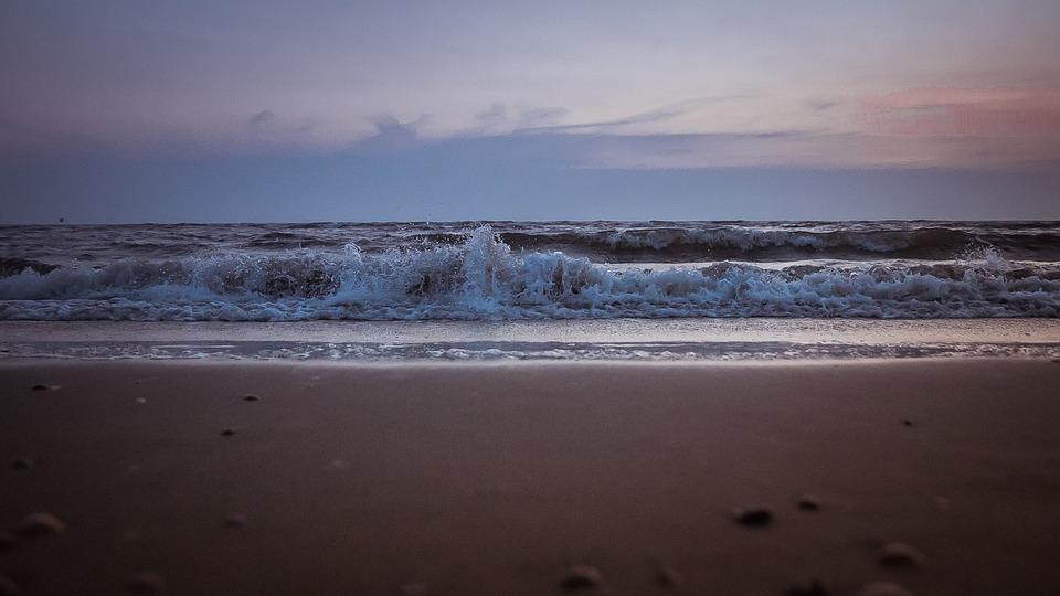 Sea, Abendstimmung, Most Beach, Sunset, Sunset Sea