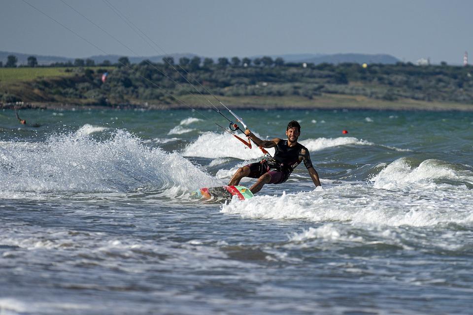 Kite, Surf, Sea, Sport, Kiteboarding, Wind, Kitesurfing