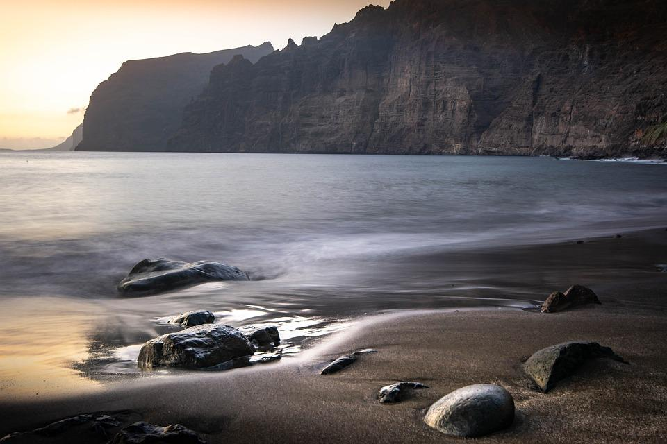 Sea, Tenerife, Water, Nature, Vacations, Beach, Ocean