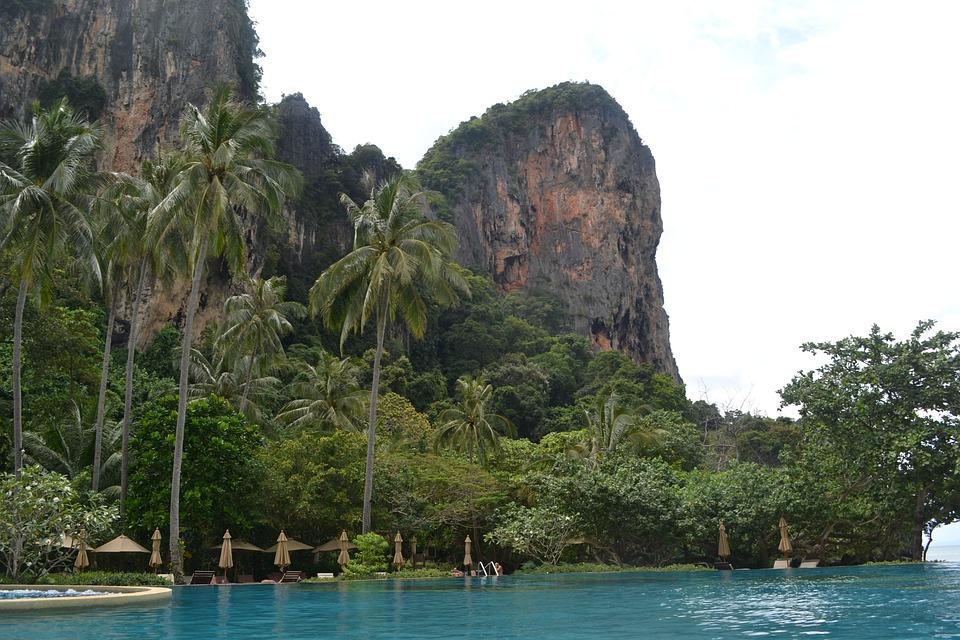 Thailand, Krabi, Sea, Thai, Asia, Island, Tropical