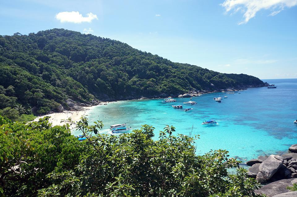 Thailand, Similan Islands, Sea