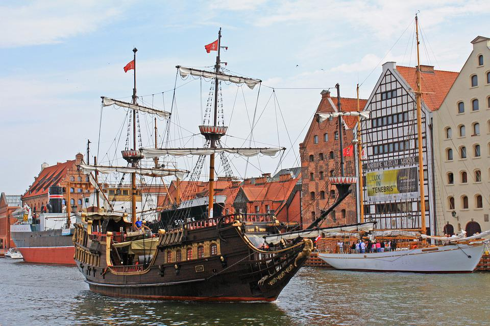 Gdansk, Ship, Pirate, Poland, Tourism, Sea, Ships