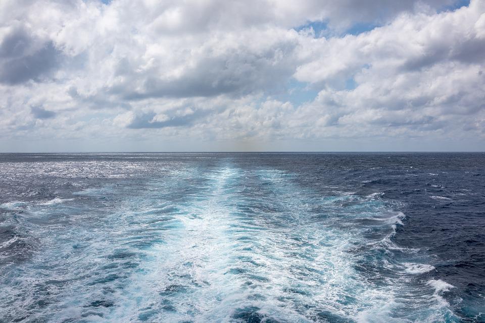 Cruise Ship Waves, Caribbean, Desktop, Water, Sea, Wave