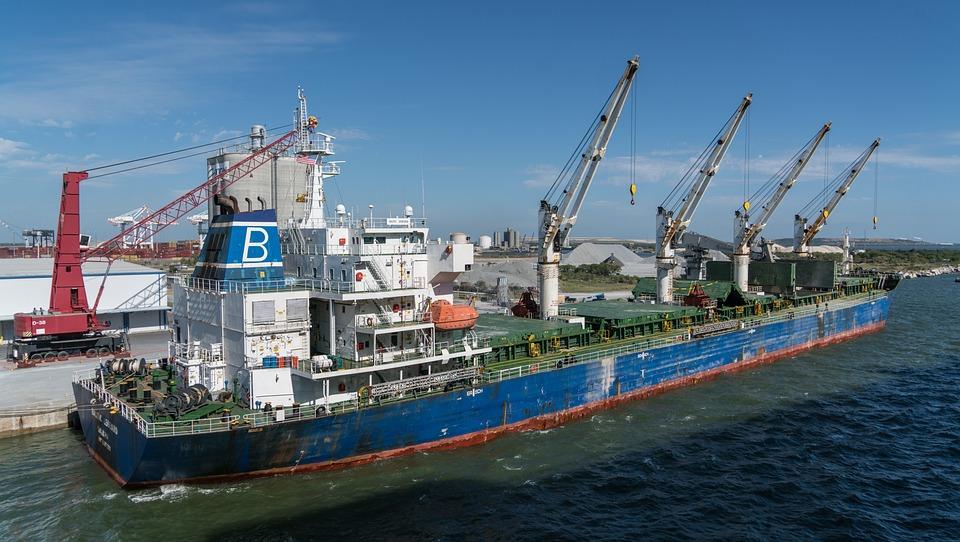 Ship, Water, Sea, Harbor, Watercraft