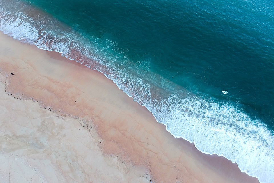 Sea, Beach, Water, Ocean, Sand, Coast, Wave, Blue