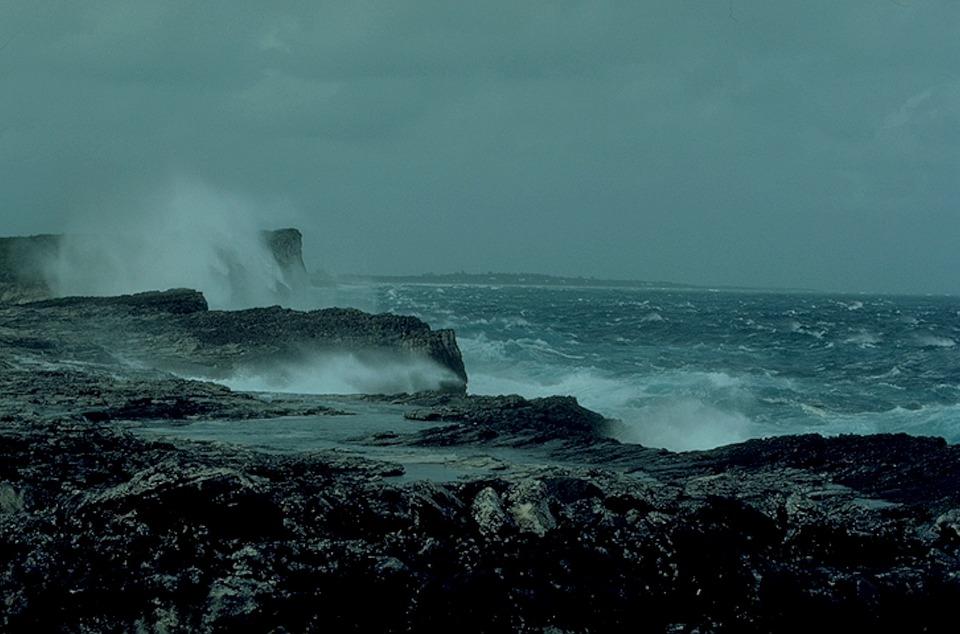 Storm, Sea, Wind