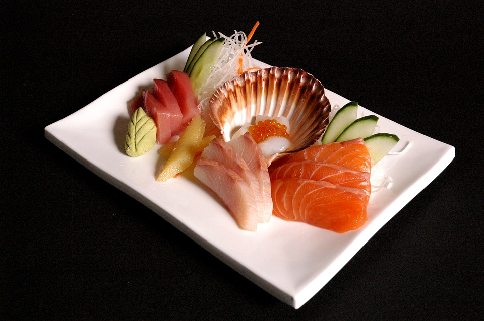 Sushi, Seafood, Japanese, Asian, Gourmet, Dish, Meal