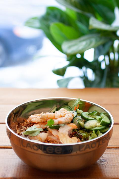 Shrimp, Food, Nutrition, Seafood, Restaurant, Healthy