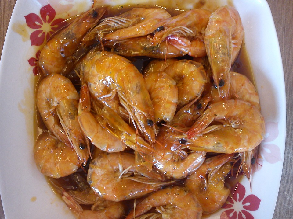 Shrimp, Seafood, Food, Fresh, Gourmet, Shellfish
