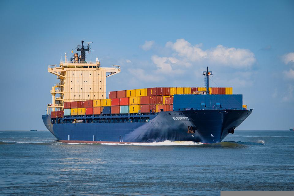 Container Ship, Container Transport, Seagoing Vessel