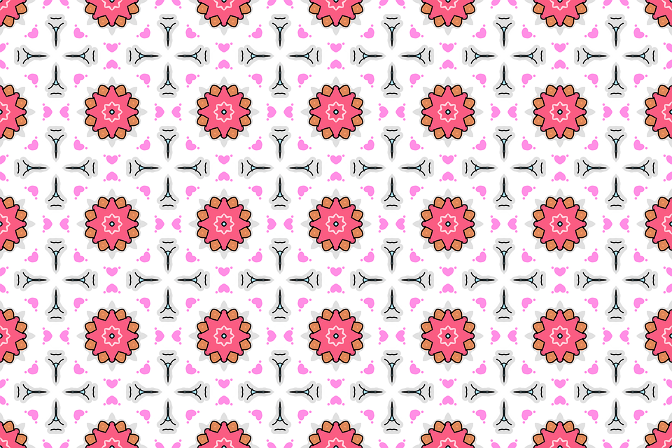 Background, Ornamental, Pattern, Seamless, Abstract