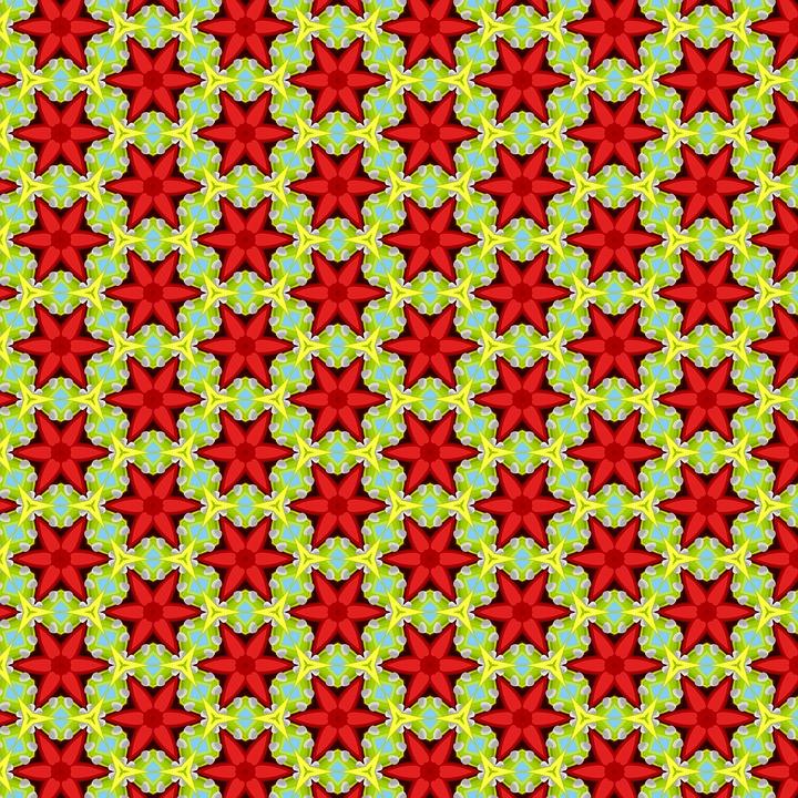 Pattern, Red Flowers, Flower Pattern, Texture, Seamless