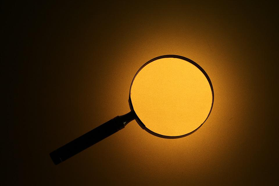 Magnifying Glass, Twilight, Search, Investigators