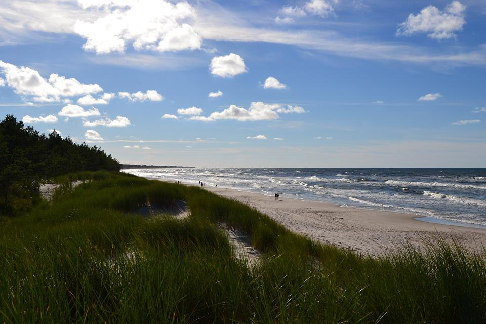 Sea, Beach, Water, Sand, Ocean, Sunlight, Seascape