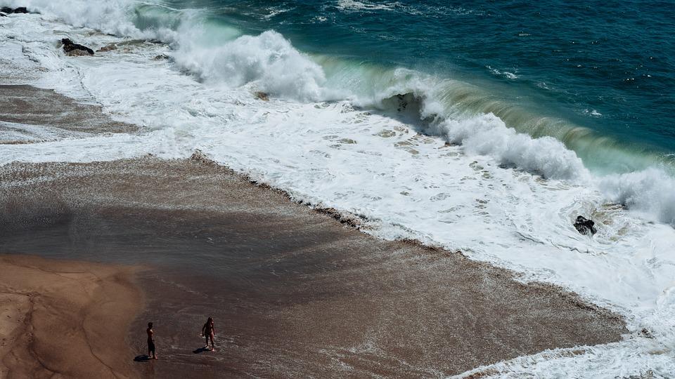 Beach, Ocean, Outdoors, People, Sand, Sea, Seascape