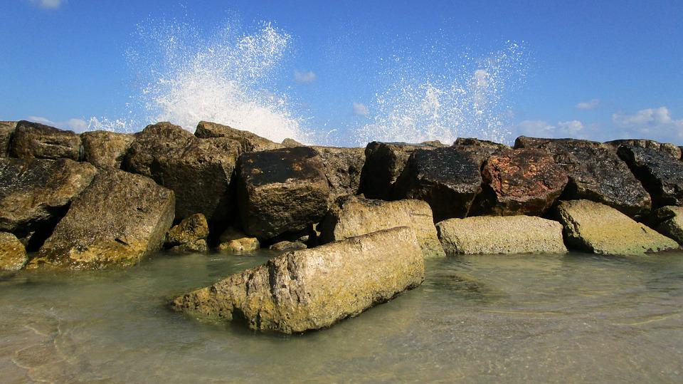 Sea, Water, Summer, Seascape, Stones, Beach, Wave
