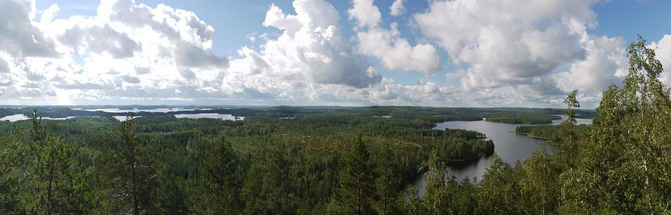 Saimaa, Lake, Finland, Panorama, Seascape, Rest, Waters